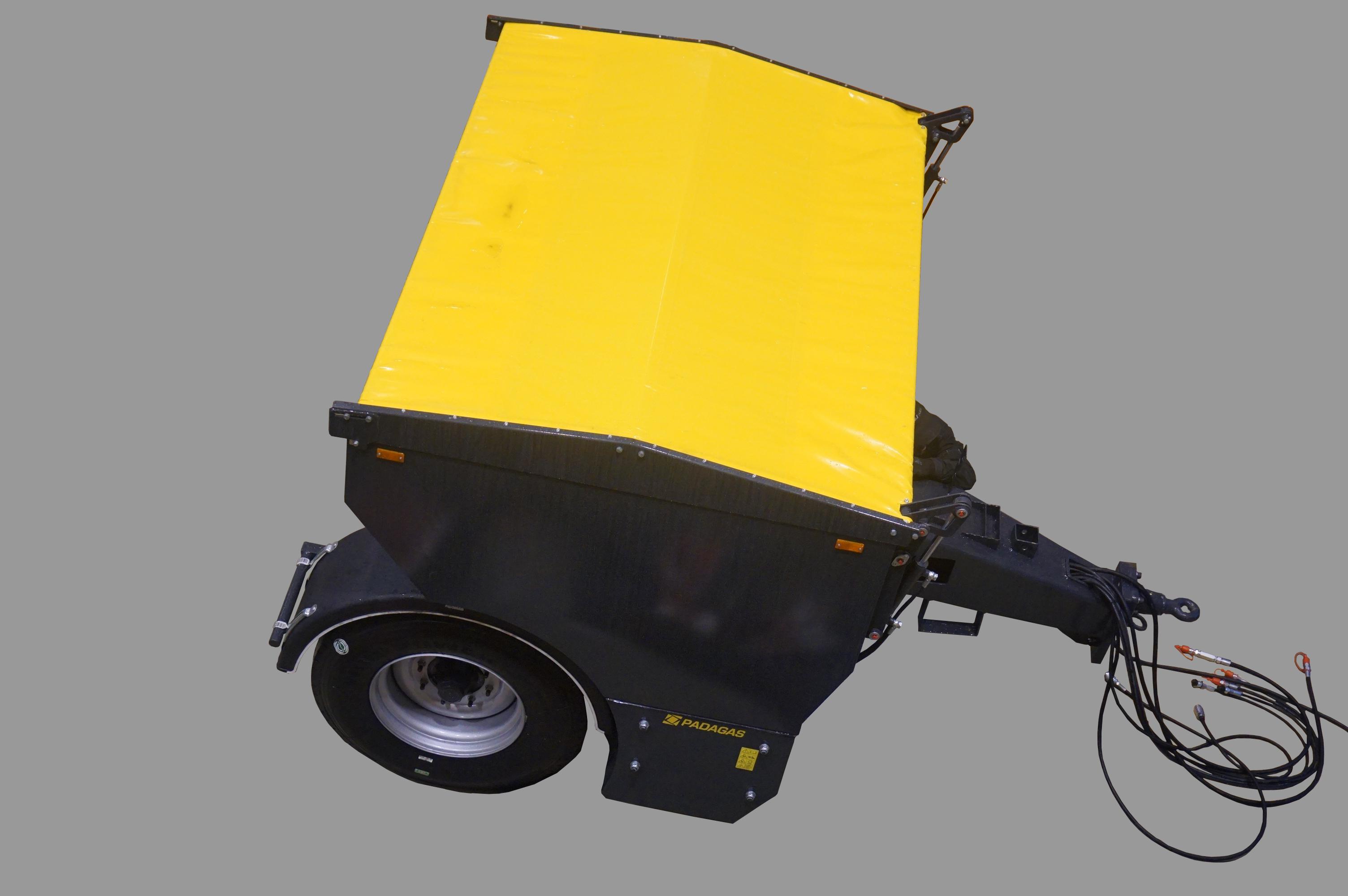 Épandeur de sable sur roues SP